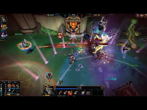 Smite - Ranked 3v3 Joust with Punkduck and Trelli - Hou yi Season 5