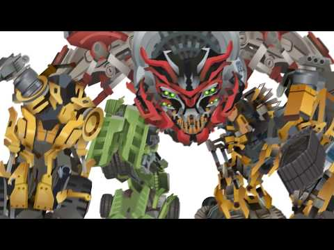Constructicon DEVASTATOR Transform - Short Flash Transformers Series