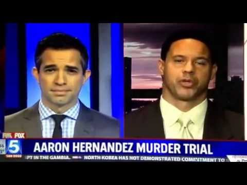 Brian Watkins talks to Fox 5 San Diego about the Super Bowl and Aaron Hernandez trial (short clip)