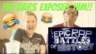 "Epic Rap Battles Of History ""Freddy Kruegar vs Wolverine"" REACTION!!!"