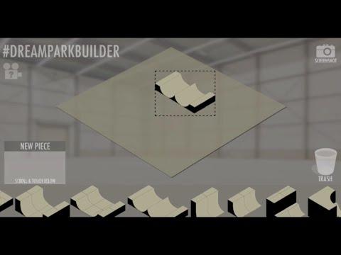 Sneak Peek: Dream Park Builder App for iOS, Android, & Windows - Skatepark Designer & Creator