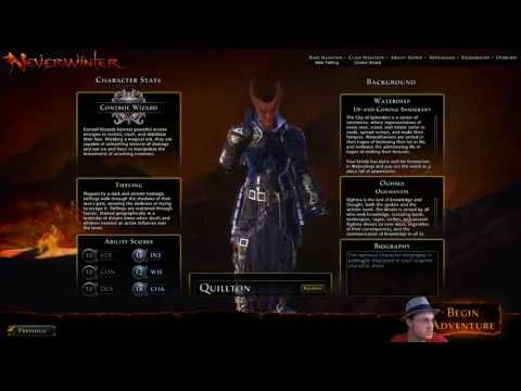 Let's Try: Neverwinter (MMO) - Part 1