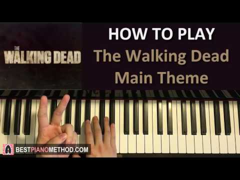 HOW TO PLAY - The Walking Dead - Main Theme (Piano Tutorial Lesson)