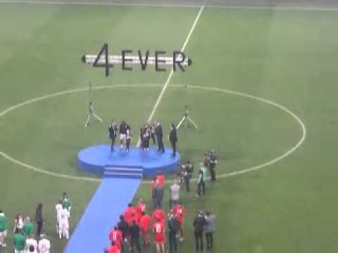 Ritirata la maglia inter numero 4 di capitan Zanetti
