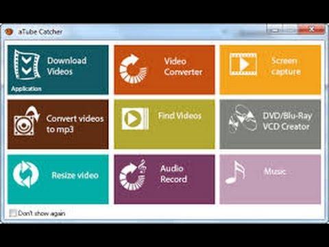 Como converter músicas e vídeos usando o programa aTube Catcher