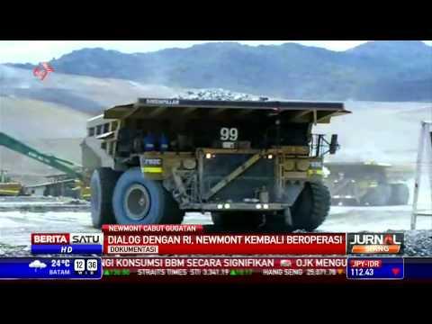 Newmont Cabut Gugatan kepada Pemerintah RI di Arbitrase Internasional