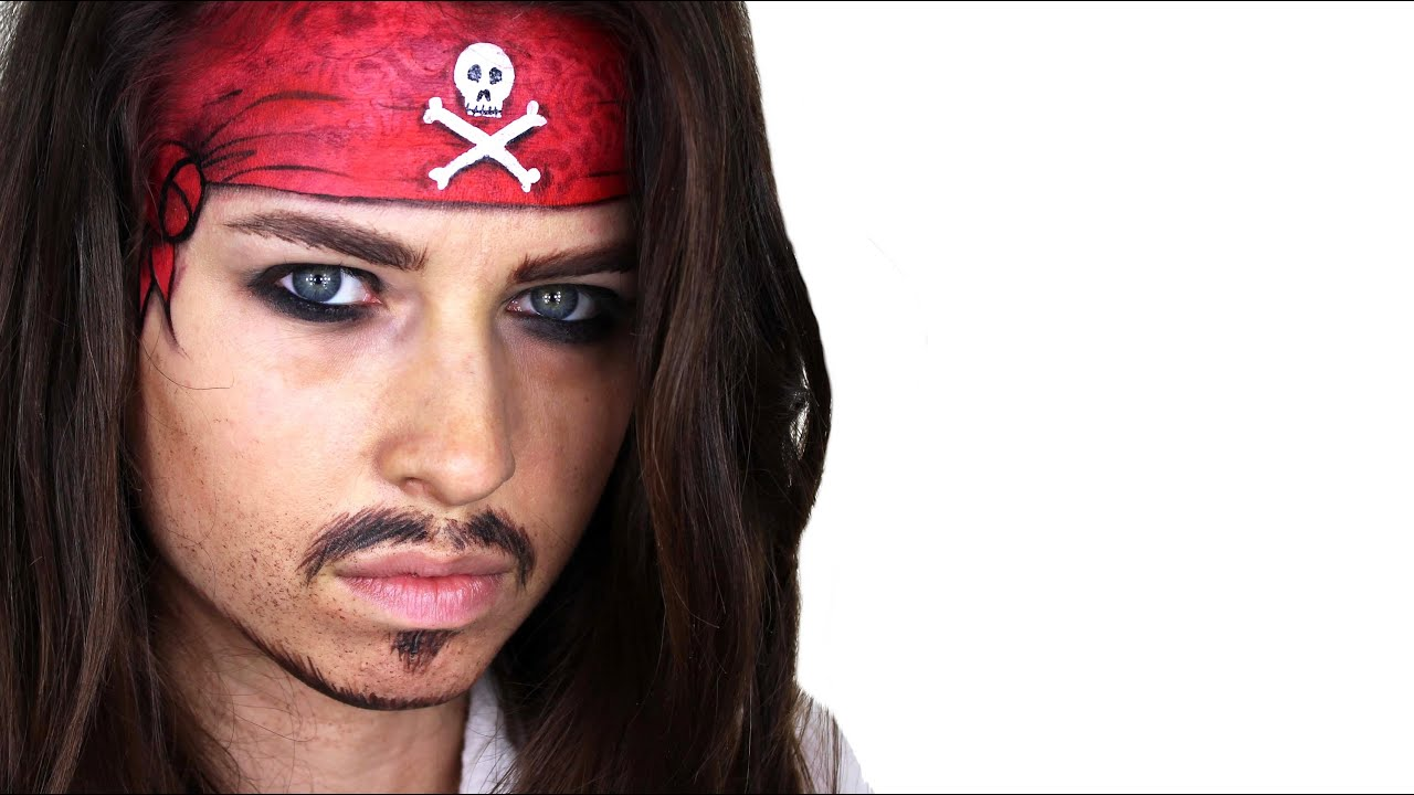 Pirate Face Painting For Adults