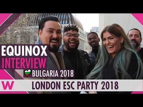 "Bulgaria | Eurovision 2018 reaction video | ""Bones"" Equinox"