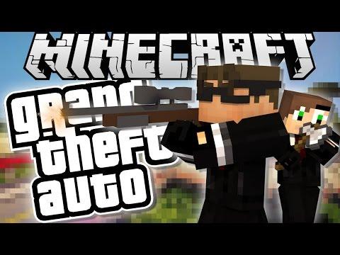Minecraft Grand Theft Auto : WE ARE HIT MEN!