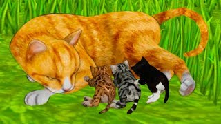 СИМУЛЯТОР Маленького КОТЕНКА #22 Челлендж с животными виртуальными котиками #ПУРУМЧАТА