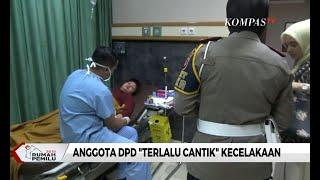 Anggota DPD yang Viral Fotonya Diedit Alami Kecelakaan
