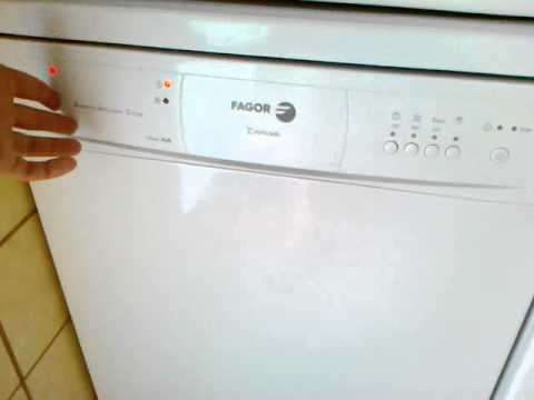 Fagor innovation lavadora manual de instrucciones de for Lavavajillas fagor innovation error f6