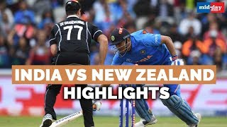 India vs New Zealand Highlights | From Jadeja's fightback to MS Dhoni's tearful goodbye