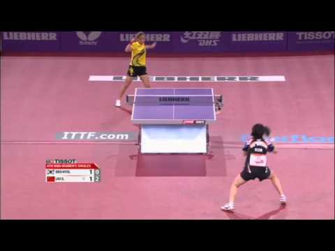 WTTC 2013 Highlights: Liu Shiwen vs Seo Hyo Won (1/8 Final)