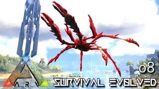ARK: SURVIVAL EVOLVED - KING CRAB PRIMAL KARKINOS E08 !!! ( PUGNACIA PARADOS )