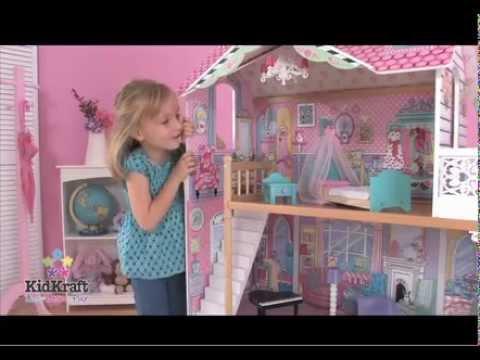 Casa de madera para barbie