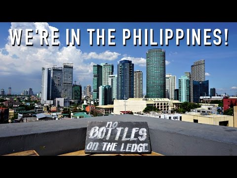 WE'RE IN THE PHILIPPINES!!!