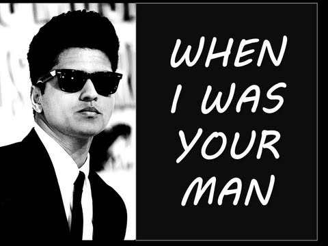 Bruno Mars - When I Was Your Man (BEST LYRICS + PICTURES)