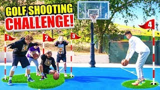 2Hype Park Basketball Golf Shooting Challenge!