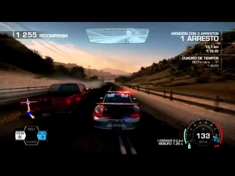 Need For Speed Hot Pursuit: Gameplay Porche Patrol (Español-PC) Porsche 911 GT3 RS
