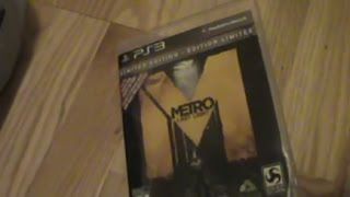 Unboxing (Abriendo) Metro Last Light Limited Edition PS3