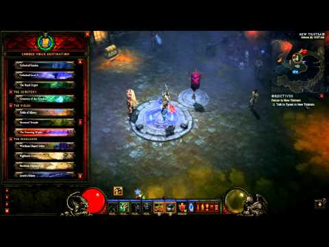 Diablo 3 Farming Guide - Act 1 Patch 1.0.8 Farming Route