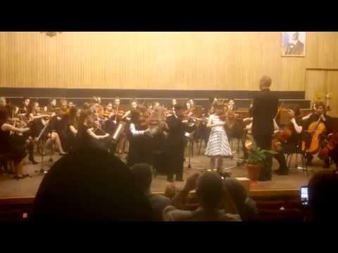 Maluchy Z Orkiestrą - Krakowska Młoda Filharmonia - A. Vivaldi - Koncert G-Dur