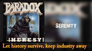 Watch Paradox Serenity video