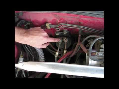How to replace a fuel filter Integra