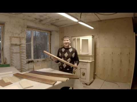 Смотреть видео мебель из дерева