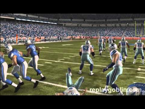 Nick Fairley is a Detroit Lion (Madden 11) Gameplay