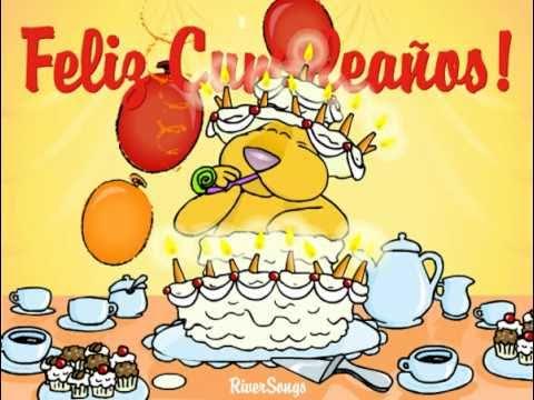 TARJETAS CUMPLEAÑOS FELIZ, Tarjetas Virtuales de Cumpleaños - YouTube