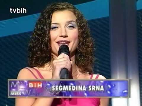 Segmedina Srna @ Miss BiH 2000