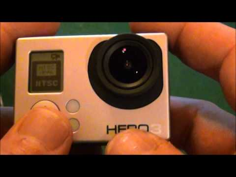 FPV GoPro Hero 3 white edtion .HOW TO and Review. phone app demo