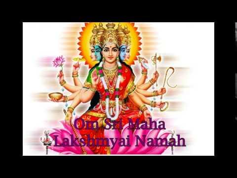 Mahalaxmi Mantra - Om Sri Mahalakshmyai Namaha - 108x video