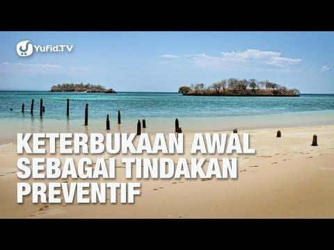 Keterbukaan Awal Sebagai Tindakan Preventif - Dr.dr. Fidiansjah Mursjid, Sp.KJ.MPH