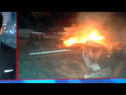 0 Update!!!Freight Train derailment causes fiery blast!!