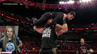 WWE Raw 4/30/18 Roman has backup!