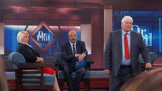 Woman's Husband And Man She's Dating Meet For The First Time On Dr. Phil's Stage