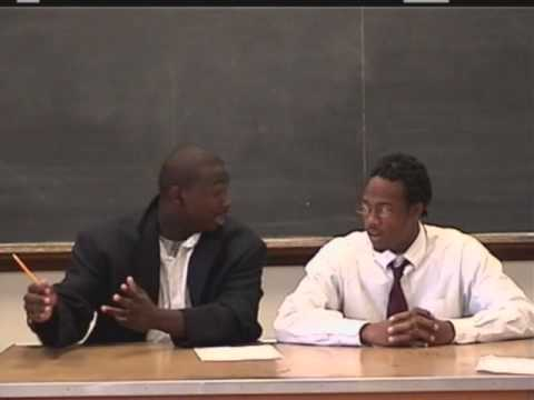 LeSean McCoy public speaking class at Milford Academy