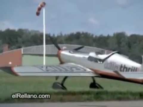 Посадил самолет без крыла - landing aircraft without wings