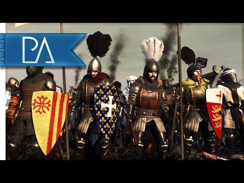MASSIVE 17000 MAN SIEGE: COMPETITVE BATTLE - Medieval Kingdoms Total War 1212AD Mod Gameplay