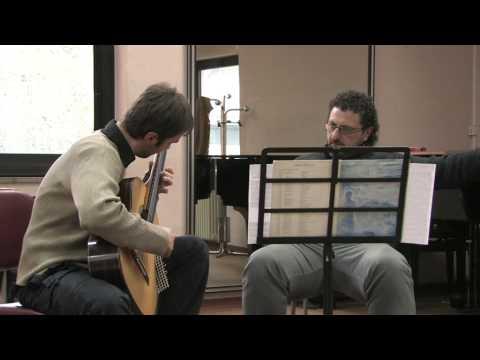 ANDREA DE VITO-Koyunbaba-master con Aniello Desiderio (al conservatorio di Avellino) (Aprile 2009)