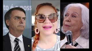 Bolsonaro corrupto, Fernanda Montenegro e a lei Rouanet