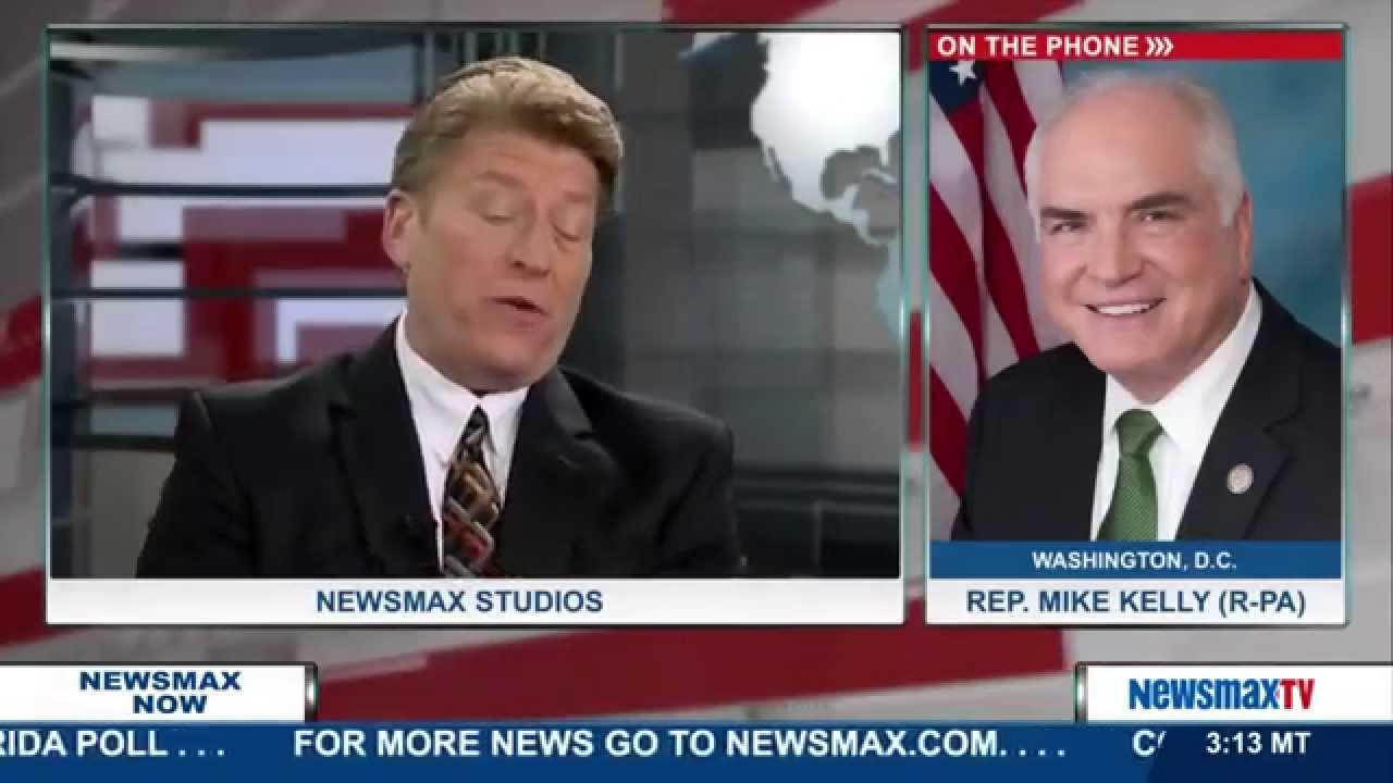 Newsmax Now | Rep. Mike Kelly discusses how he called on the IRS to audit Planned Parenthood