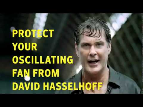 David Hasselhoff vs  Fan   Norton 2010