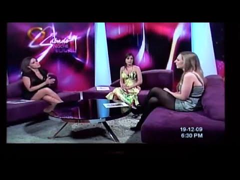 Natascia en Globovision programa
