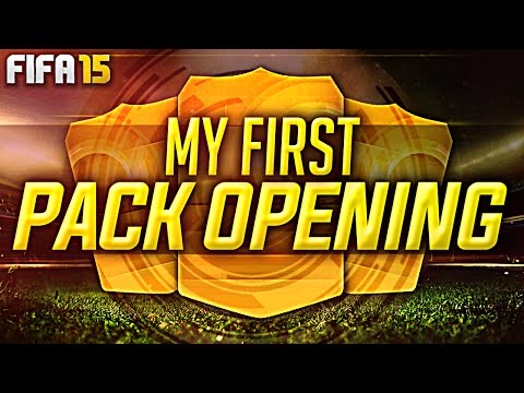 My FIRST Pack Opening FIFA 15 Ultimate Team