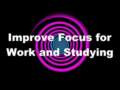 Hypnosis: Improve Focus For Work And Studying (request) video