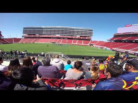 FC Barcelona training at Levi Stadium 2015-#TourFCB
